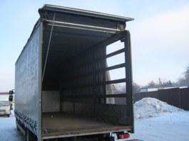 Тент-фургон DAF с гидробортом